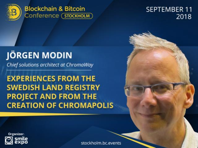 How Does Swedish Land Registry Work on Blockchain? Answer from Jörgen Modin – Chief Solutions Architect at ChromaWay