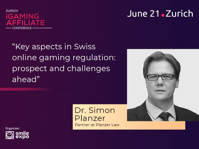 How Gambling Is Regulated in Switzerland: Presentation from Partner at PLANZER LAW, Dr. Simon Planzer