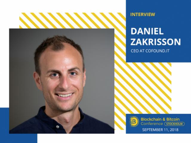 ICO is not a way to raise funds. It's a way to start your network: Daniel Zakrisson, CEO at Cofound.it