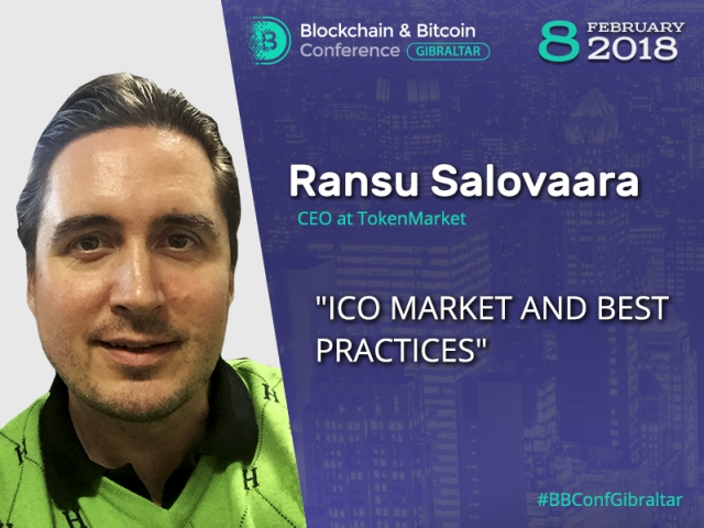 'ICO market overview' — presentation of CEO at TokenMarket exchange Ransu Salovaara
