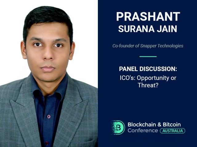 ICOs: Scam or Great Possibilities? Prashant Surana Jain, Co-founder of Snapper Technologies, Will Answer the Question