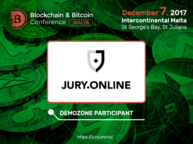 Jury.online team will show new possibilities of smart contracts at Blockchain & Bitcoin Conference Malta