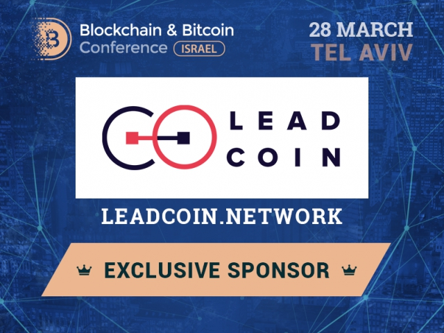 LeadCoin will be an Exclusive Sponsor of Blockchain & Bitcoin Conference Israel