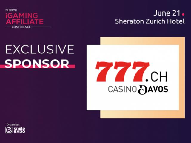 Meet Exclusive Sponsor of Zurich iGaming Affiliate Conference – Licensed Online Casino Casino777.ch for Casino Davos