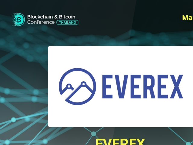 Meet Sponsor of Blockchain & Bitcoin Conference Thailand: Everex