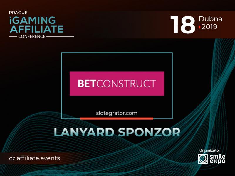 Představujeme lanyard sponzora Prague iGaming Affiliate Conference – BetConstruct
