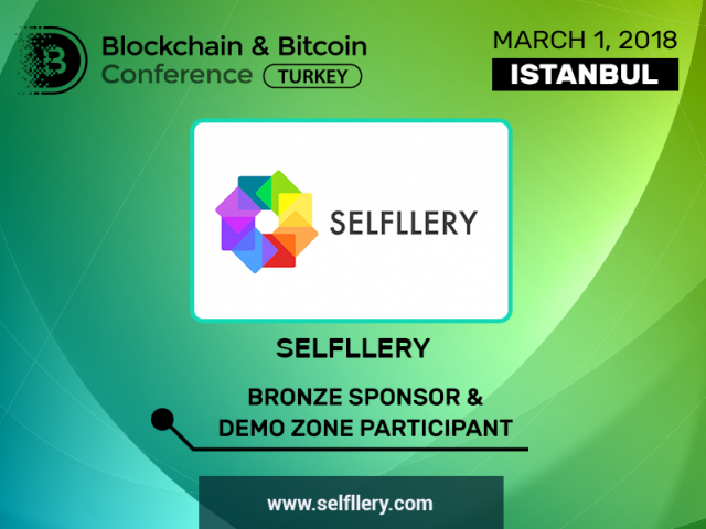 SELFLLERY is Bronze Sponsor of Blockchain & Bitcoin Conference Turkey