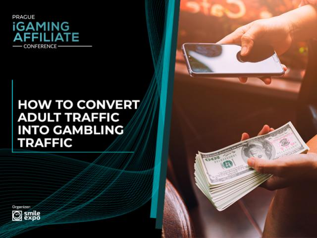 Sending adult traffic to gambling sites