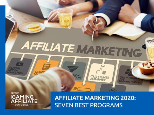 Seven Best Affiliate Programs 2020