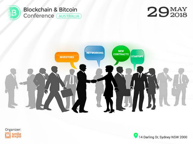 Share Your Brand and Find Investors! Blockchain & Bitcoin Conference Australia Invites You