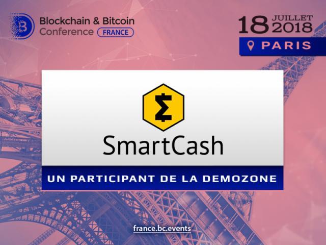 SmartCash présente son projet à la Blockchain & Bitcoin Conference France