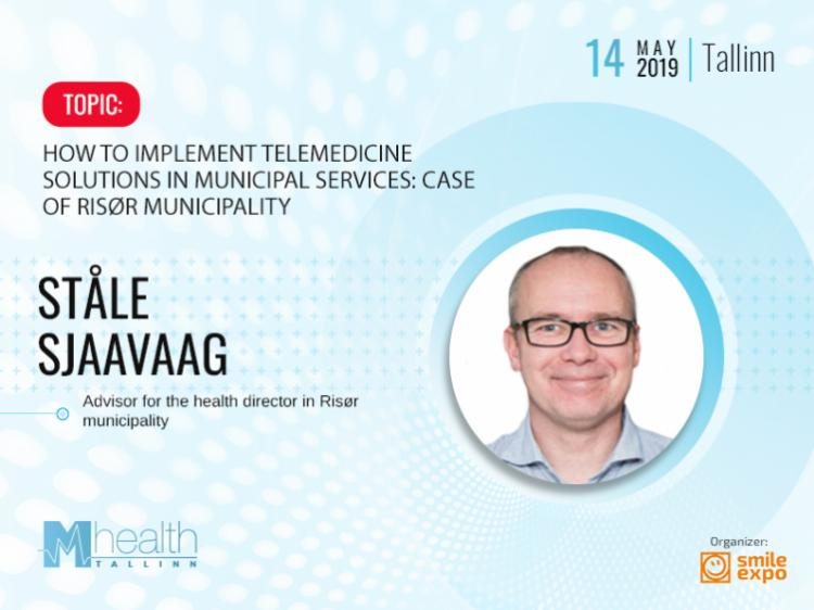 Ståle Sjaavaag from Norway to explain how telemedicine affects the municipality's work