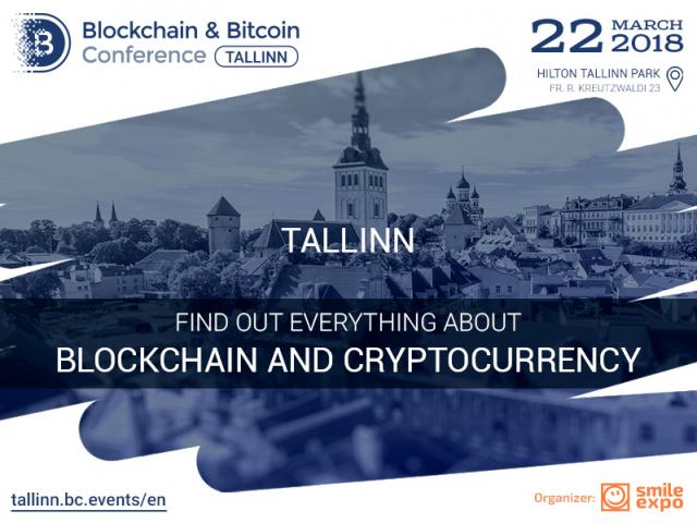 The major event in the crypto space of Estonia Blockchain & Bitcoin Conference Tallinn will be held on March 22