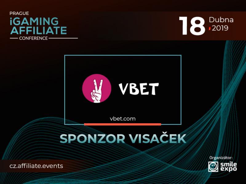 VBET je sponzor visaček Prague iGaming Affiliate Conference