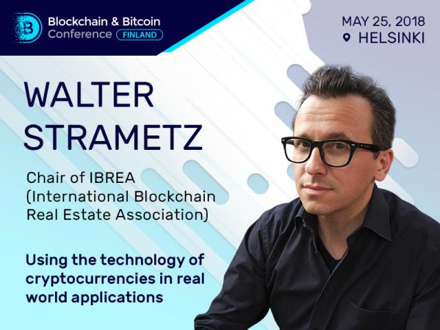 What Do Cryptocurrency Tokens Enable in Real World? Walter Strametz, Chair of IBREA, Will Discuss