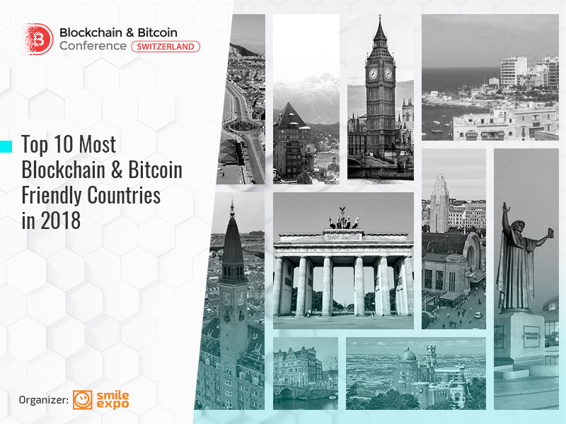 Top 10 Most Blockchain & Bitcoin Friendly Countries in 2018