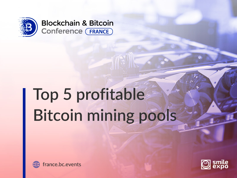 Top 5 Bitcoin mining pools in France