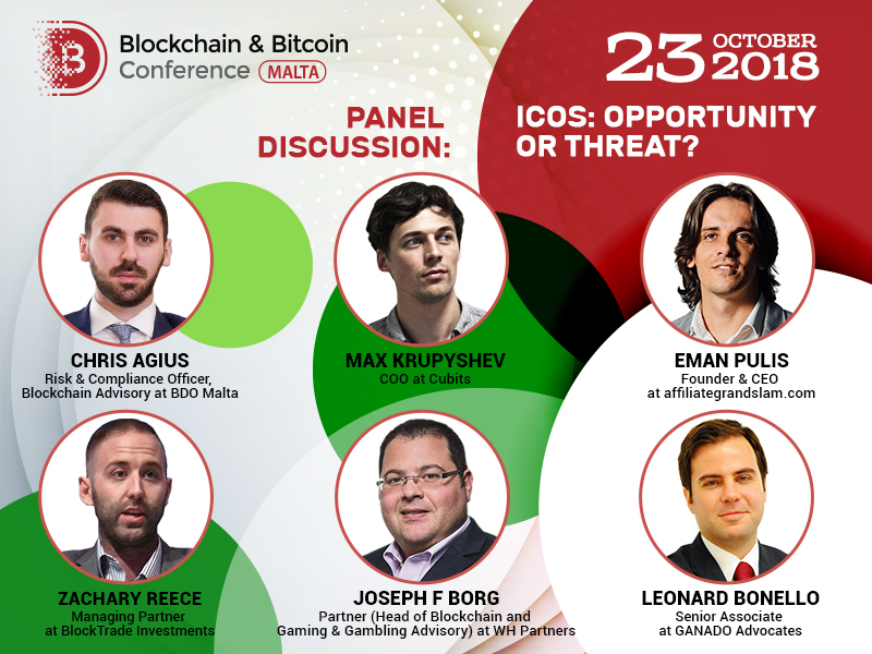 Top Blockchain Experts Will Discuss ICO at the Conference