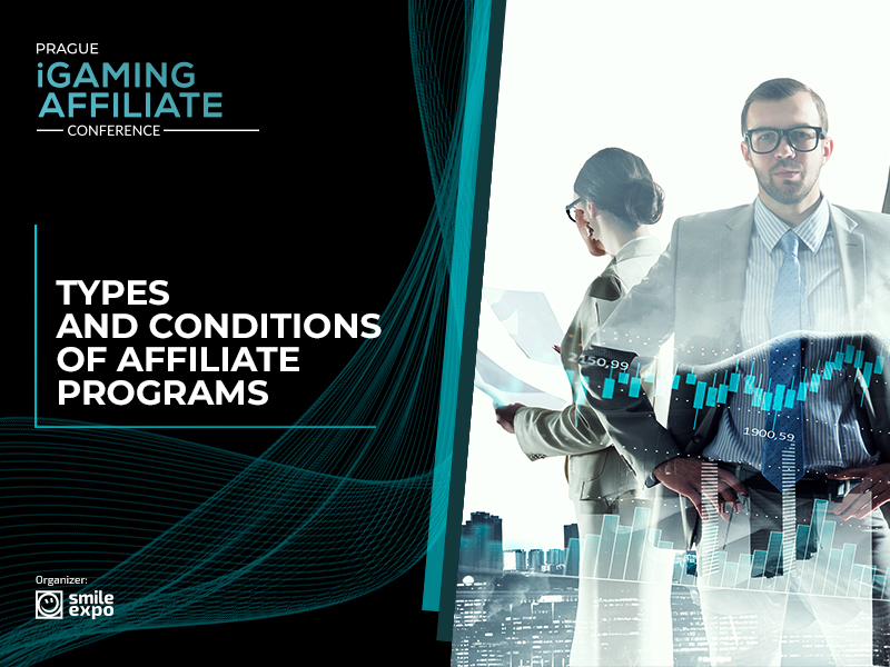 Types and conditions of affiliate programs