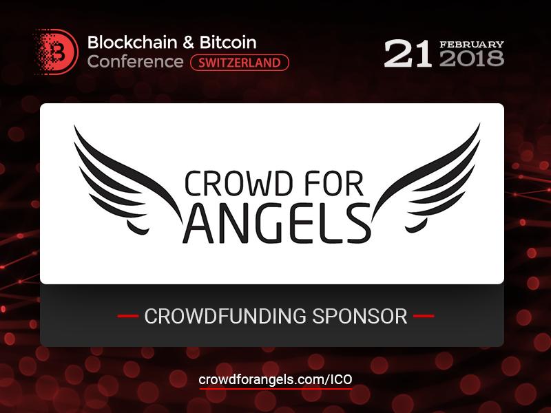 UK-based Crowd for Angels platform: Sponsor of Blockchain & Bitcoin Conference Switzerland