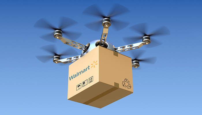 Walmart to monitor drone goods delivery using blockchain