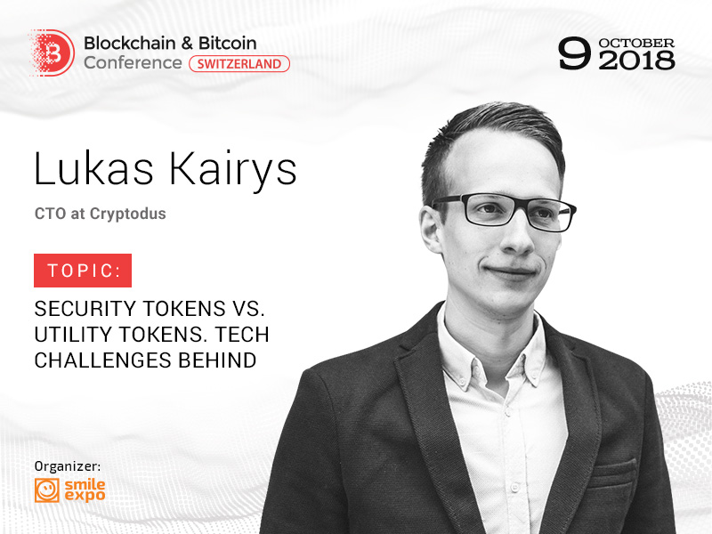 What Is the Difference Between Utility and Security Tokens? Answer from CTO at Cryptodus Lukas Kairys