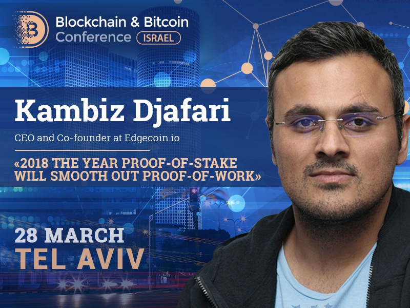 What will change for miners and traders in 2018? Kambiz Djafari on switching to Proof-of-Stake algorithm
