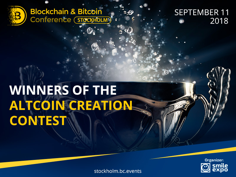 Winners of the Altcoin Creation Contest