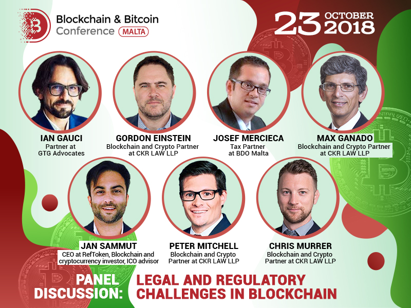 World's leading lawyers to take part in a discussion over blockchain tech regulation
