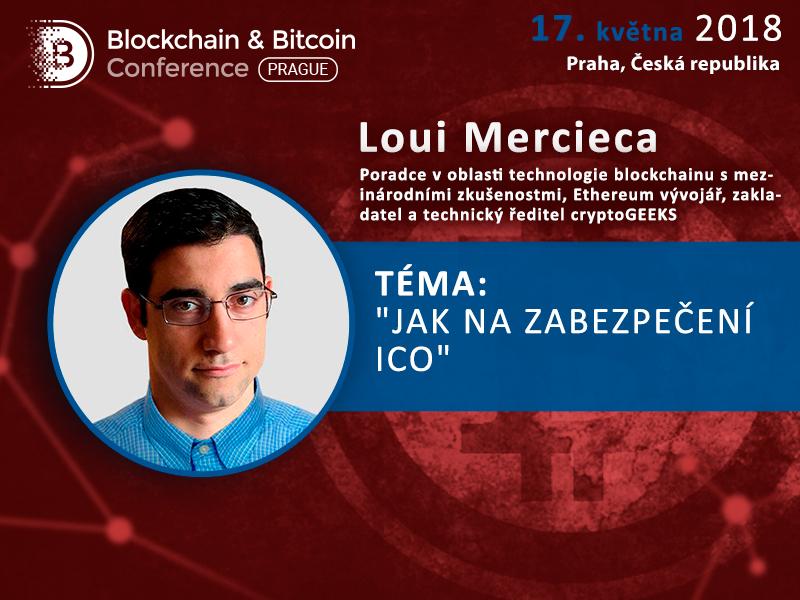 Zakladatel CryptoGeeks Loui Mercieca prozradí, jak zajistit bezpečnost a spolehlivé fungování ICO