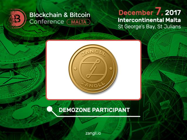 Zangli to be new exhibition area participant at Blockchain & Bitcoin Conference Malta