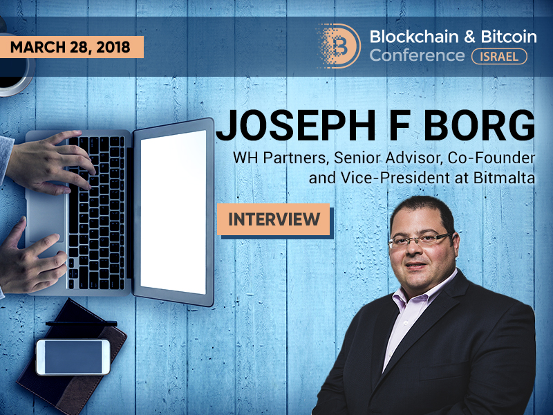 Joseph F Borg: Cryptocurrency regulation would resolve 90% of the problem with digital assets