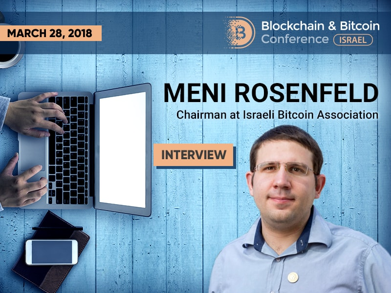 Meni Rosenfeld: «About 100 businesses accepting Bitcoin – not too bad for a small country»