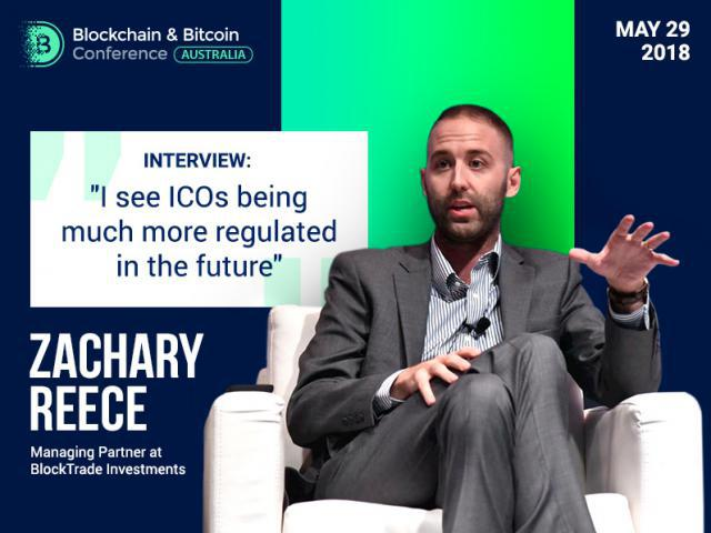 """I see very bright future for ICOs"", Zachary Reece, Managing Partner at BlockTrade Investments"